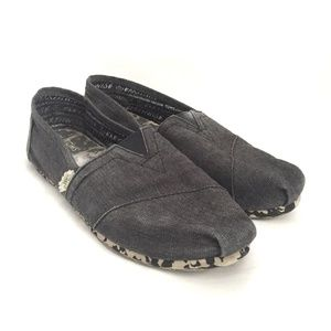 Toms Women's Navy Slide on Size 9.5